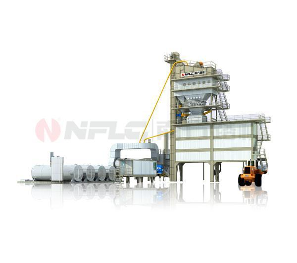 Bypass Asphalt Mixing Equipment