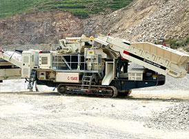 Tracked Mobile Cone Crushing Station