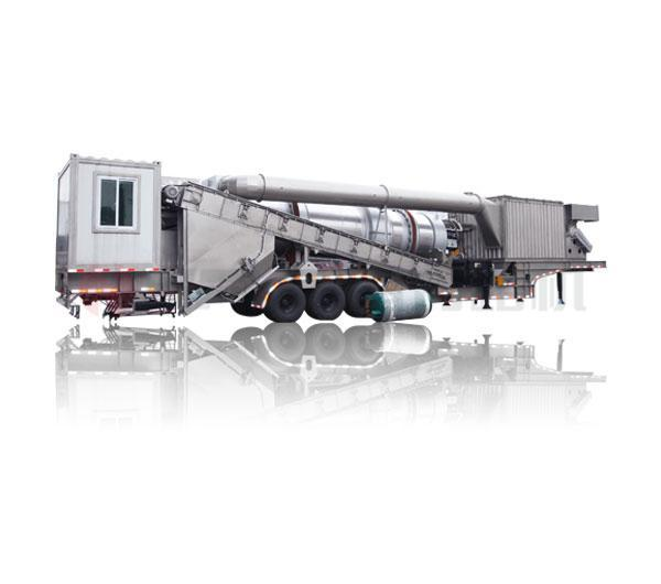 Mobile Continuous Asphalt Mixing Equipment